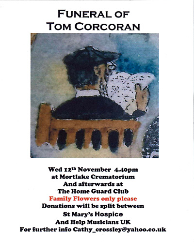 Funeral of Tom Corcoran